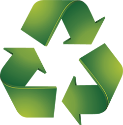 recycle icon med