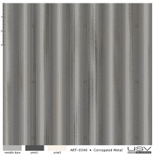art-0348 corrugated metal