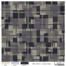 art-0364 cubist plaid